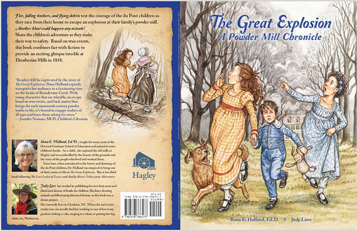 The Great Explosion A Powder Mill Chronicle book cover